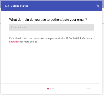 register domain with google postmaster tools